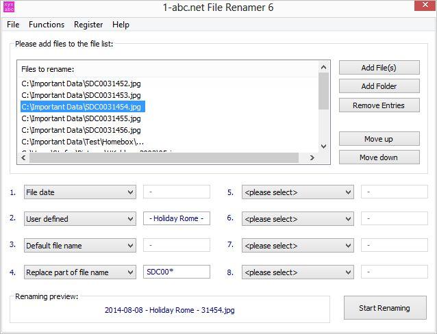 "1-abc.net File Renamer – 文件名批量重命名丨""反""斗限免"